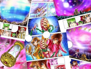 Illustration for article titled The Next Season of Saint Seiya: Next Dimension´s Manga will come this Summer