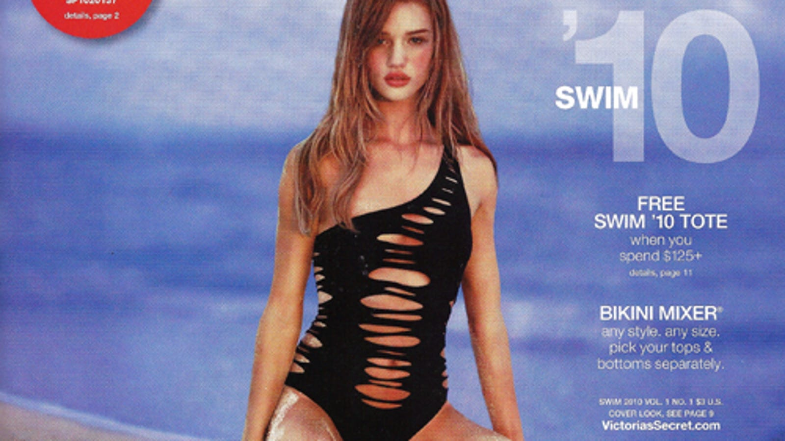 2fba710f08 Post-Holiday Bloat? Tough: It's Swimsuit Season At Victoria's Secret