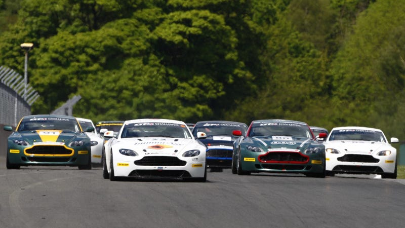 Illustration for article titled Aston Martin GT4 Challenge Of North America Announced At Petit Le Mans