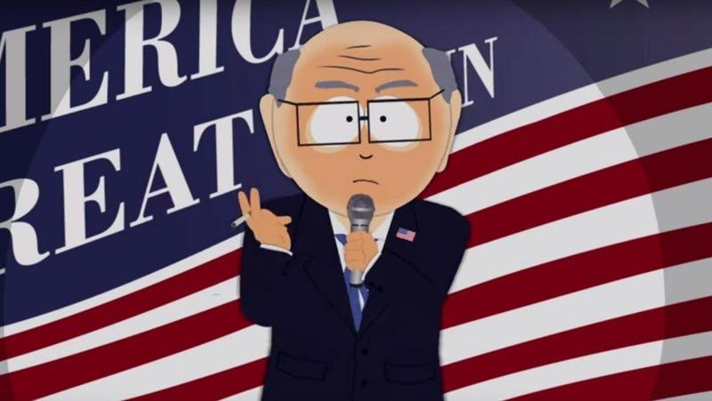 Illustration for article titled La victoria de Trump obligó a los guionistas de South Park a reescribir un episodio a última hora