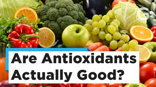 Antioxidants Will Not Stop You From Dying