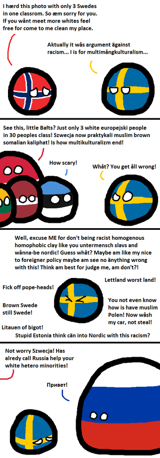 Illustration for article titled Daily Polandball: Being European Edition