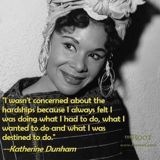 Katherine Dunham (Wikimedia Commons)