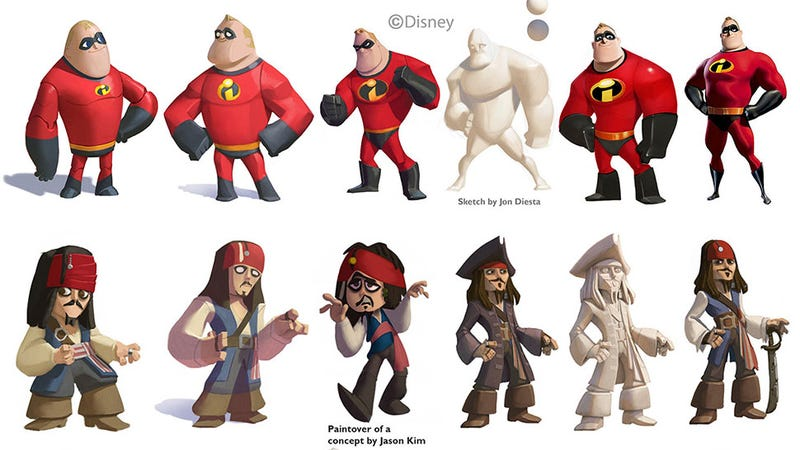 How Disney Got All Its Characters Looking The Same