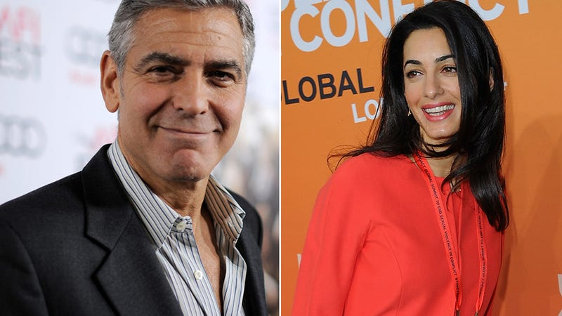 Illustration for article titled Report: George Clooney and Amal Alamuddin's Wedding Will Be in Vogue