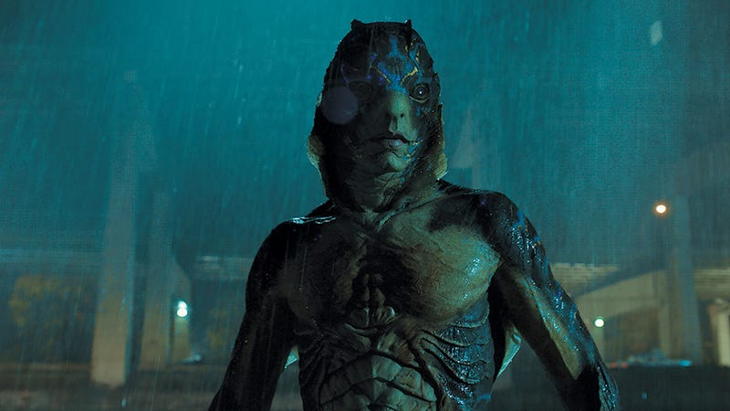 Illustration for article titled Guillermo del Toro Spent Years Making Sure The Shape of Water's Fish Monster Had a Sexy Butt