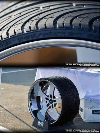 Illustration for article titled Rubber bands, erm I mean tires