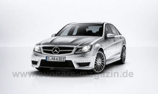 Illustration for article titled 2012 Mercedes-Benz C63 AMG First Photos Leak?