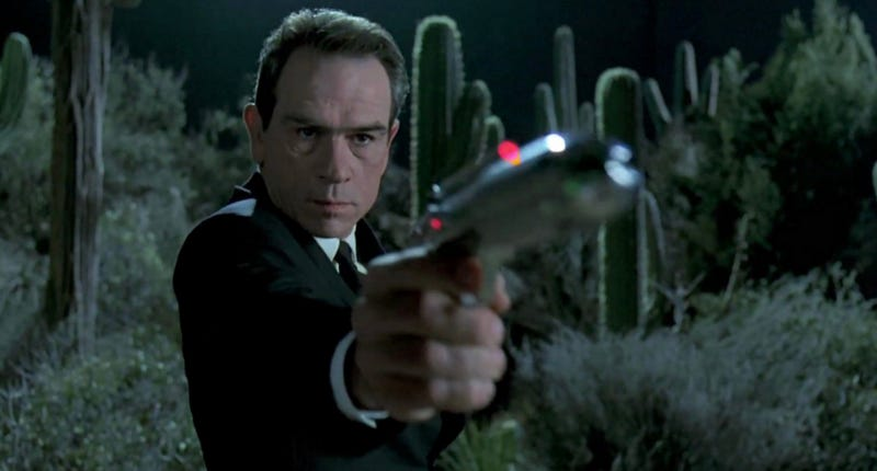 Tommy Lee Jones is going back to the science fiction genre. Image: Sony