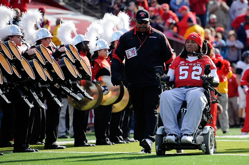 Illustration for article titled Tampa Bay Bucs Sign Paralyzed Former Rutgers Player In Goodwill Gesture