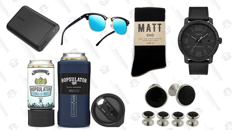 Illustration for article titled Gifts That Your Groomsmen Will Actually Love and Use After the Wedding
