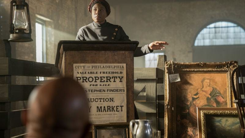 Aisha Hinds as Harriet Tubman (Photo: WGN America)