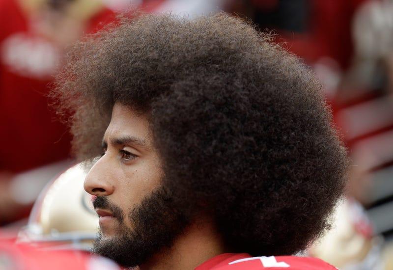 Then-San Francisco 49ers quarterback Colin Kaepernick in 2016 (Marcio Jose Sanchez/AP Images)