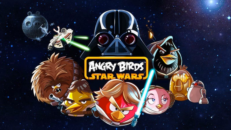 Illustration for article titled Before There Was Angry Birds: Star Wars, There Was Fanmade Angry Birds: Star Wars