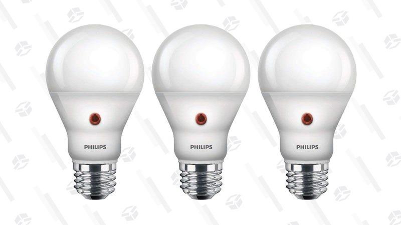 3 Pack Philips Dusk To Dawn Led Light Bulbs 15