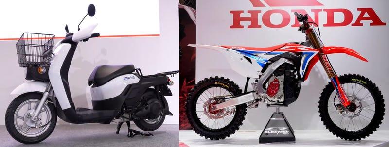 Honda Looks Ready for an Electric Bike Future