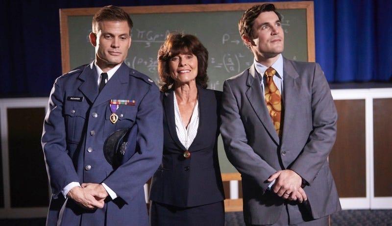 Casper Van Dien, Adrienne Barbeau, and Sean Maher in Beyond the Edge. Image: Screen Media Films
