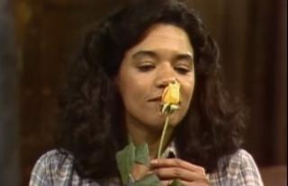Sonia Manzano, who plays Maria on Sesame StreetYouTube screenshot