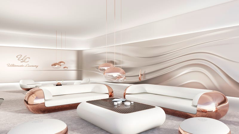 Illustration for article titled Maybach's Ultimate Luxury Is A Living Room Where You Can't Touch Anything