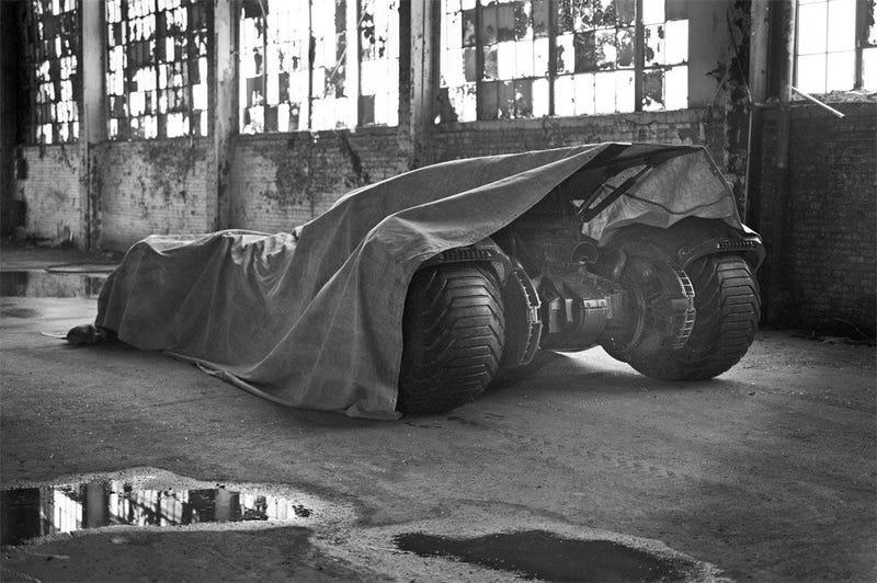 Illustration for article titled Batman V. Superman's Batmobile Revealed, Is It Better Than the Tumbler?