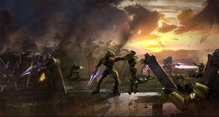 """Illustration for article titled Screenwriter Believes Halo Is """"Our Generation's Star Wars"""""""