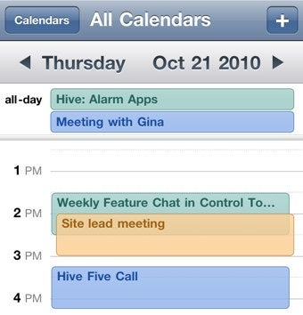 Illustration for article titled How to Sync Calendar Colors Between Google Calendar and iOS