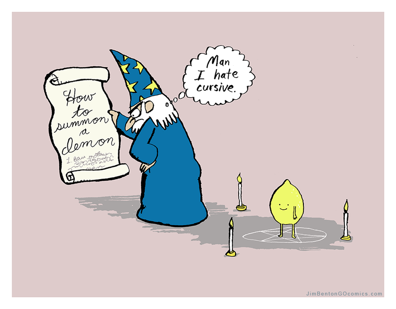 Illustration for article titled This Is Why Cursive Is Dying Out
