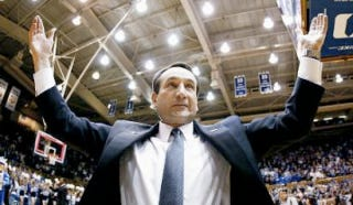 Illustration for article titled Duke Coach Mike Krzyzewski Being Internally Investigated For Possible Recruiting Violation