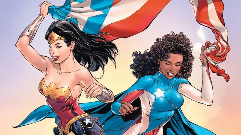 Wonder Woman and La Borinqueña on Ricanstruction: Reminiscing & Rebuilding Puerto Rico.