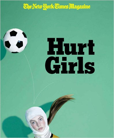 "Illustration for article titled ""Girls Hurt"": The Soccer Story That Will Pain Your Pretty Little Head"