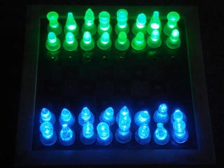 Illustration for article titled Build an LED-based Chess Set