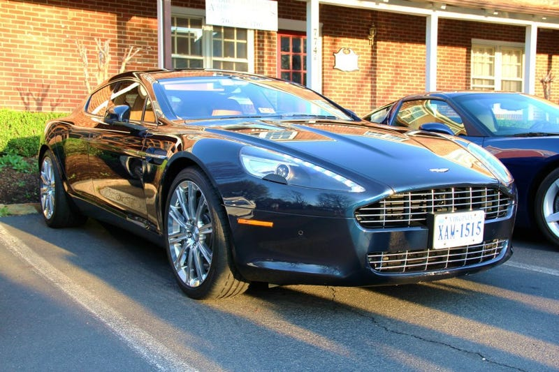 Illustration for article titled Finally saw a Rapide in the wild