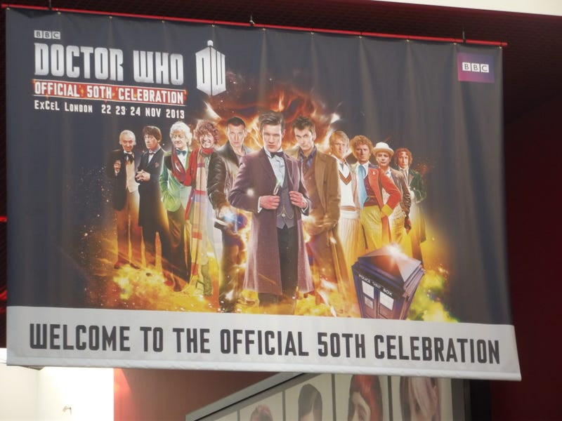 Illustration for article titled A Time-Space Visualiser guide to Doctor Who's Official 50th Convention