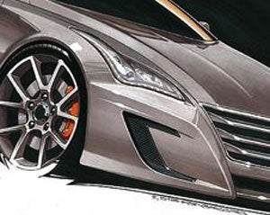Illustration for article titled Next-Gen Infiniti G37 Coupe A Shooting Break?