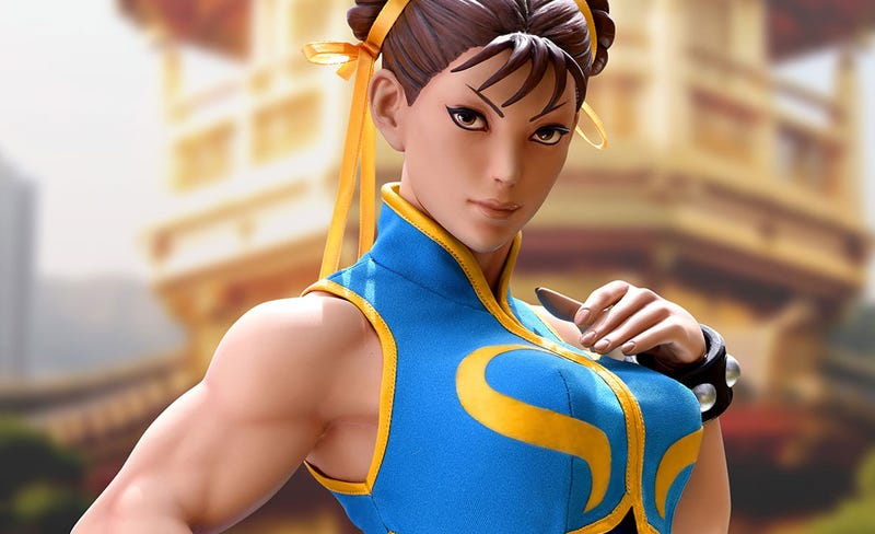 Illustration for article titled Here's A $900 Chun-Li Statue