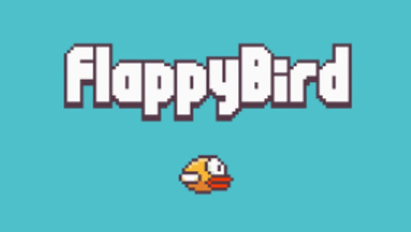 Illustration for article titled Wait, What? Flappy Bird's Creator Says He's Removing The Game (Updated)
