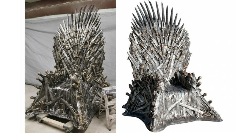 Illustration for article titled Rule Your Office Kingdom With This $30,000 Game of Thrones Replica