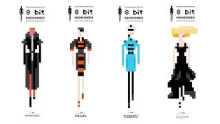Illustration for article titled These Designers are the Height of 8-Bit Fashion