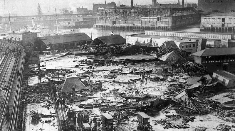 Hace exactamente 100 años ocurrió una catástrofe insólita: un diluvio mortal de melaza arrasó la ciudad de Boston