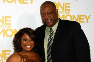 Sherri Shepherd and Lamar Sally attend the premiere of One for the Money at AMC Loews Lincoln Square on Jan. 24, 2012, in New York City.Andy Kropa/Getty Images