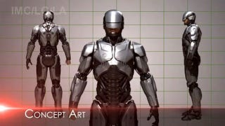 Illustration for article titled Concept art reveals that RoboCop's new armor really does look (thankfully) like RoboCop