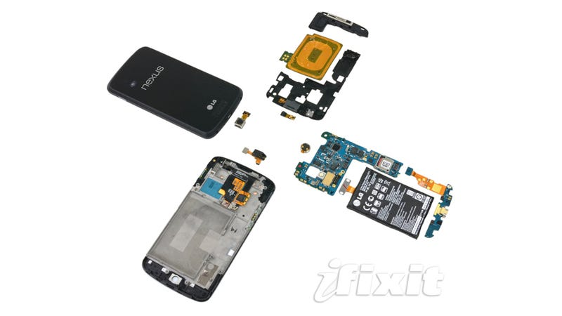 Illustration for article titled Nexus 4 Teardown: What the Guts Look Like