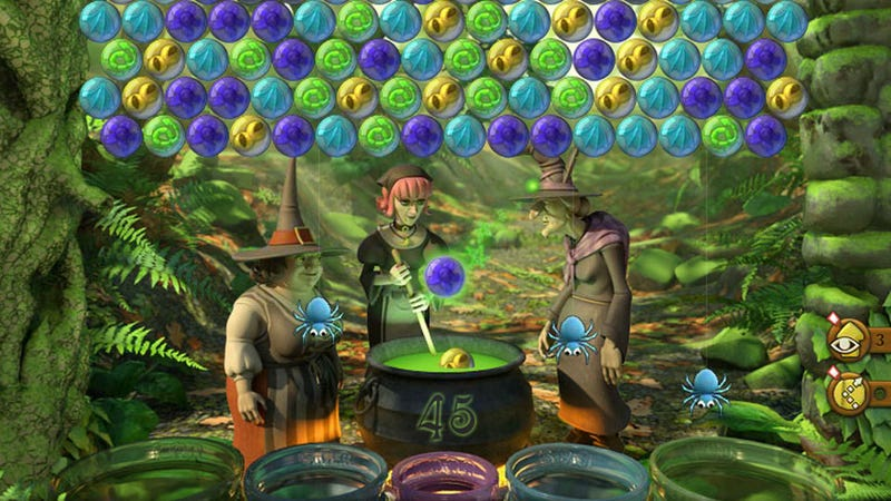 Illustration for article titled Bubble Witch Saga Makes Me Appreciate Facebook Games' Manufactured Limitations