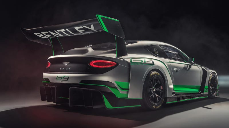 Illustration for article titled It's the motherfuckin' new Bentley Continental GT3