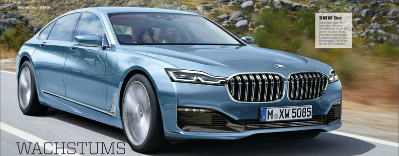 Illustration for article titled Rumor: BMW 9 Series Coupe considered for production
