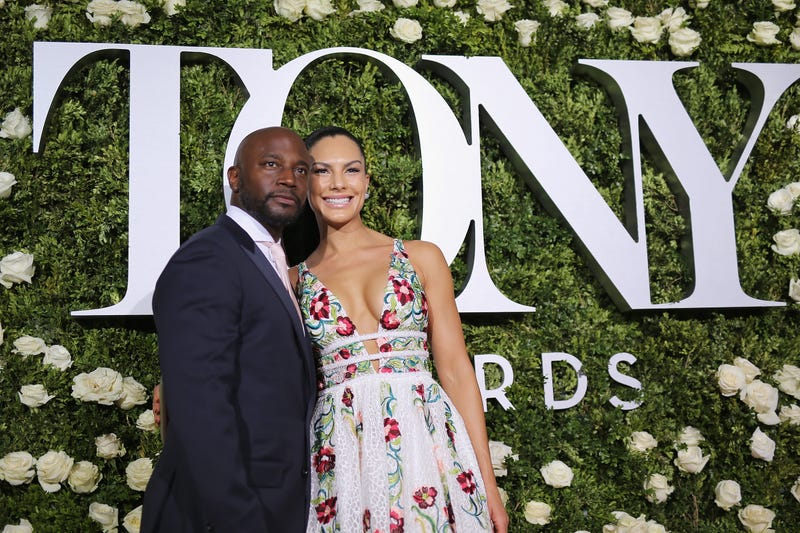 Taye Diggs and Amanza Smith Brown attend the 2017 Tony Awards at Radio City Music Hall on June 11, 2017, in New York City.