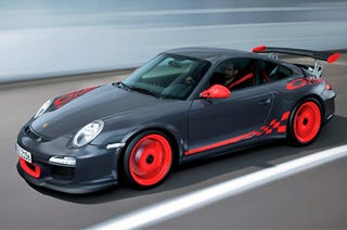 Illustration for article titled Porsche 911 GT3 RS Claims 7:33 'Ring Run, Still Doesn't Beat GT-R