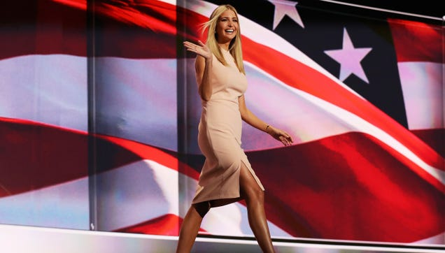 Ivanka Trump Makes America Great Again in an Imported Dress