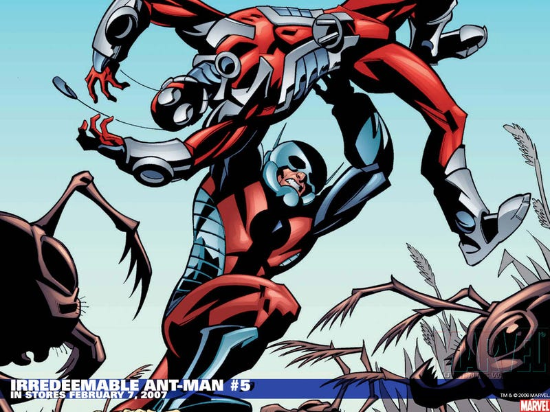 Illustration for article titled The Ant-Man movie is really happening!