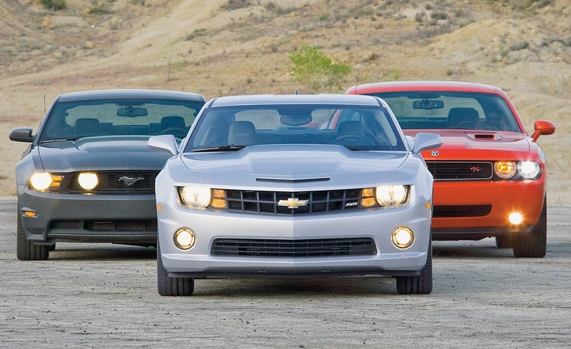 Illustration for article titled The 2000s and the American Muscle Revival